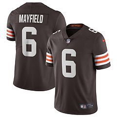 Outerstuff Baker Mayfield Cleveland Browns Blackout Youth Alternate Player Jersey