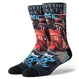 Men's Stance James Harden Houston Rockets Playoff Hero Crew Socks