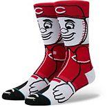 Youth Stance Cincinnati Reds Mascot Crew Socks