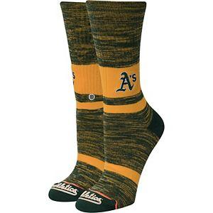 Women's Stance Oakland Athletics Classic Crew Socks