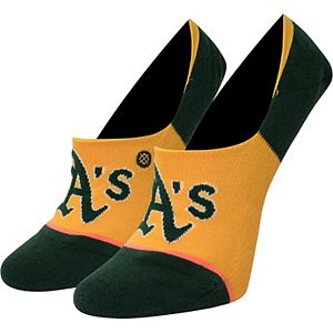 Women's Stance Oakland Athletics Invisible No Show Socks