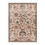 Well Woven Mystic Harper Floral Distressed Area Rug
