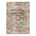 Well Woven Rodeo Roswell Bohomian Tribal Distressed Area Rug
