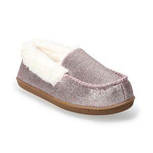 Women's Sonoma Goods For Life® Glitter Moccasin Slippers