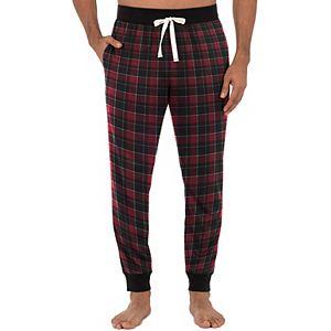 Men's IZOD Plaid Woven Flannel Jogger Sleep Pants