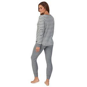 Women's Koolaburra by UGG Thermal Henley Pajama Top & Banded Bottom Pajama Pants
