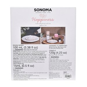 Sonoma Goods For Life® Spa Ceramic Diffuser - Happiness
