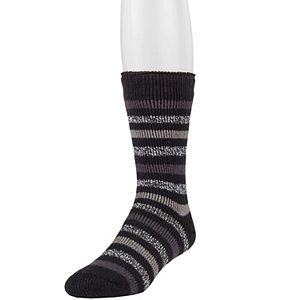 Men's Heat Holders Original Striped Crew Socks