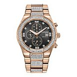 Men's Citizen Eco-Drive Crystal Chronograph Watch - CA0753-55E