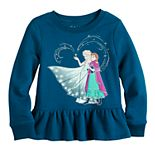Disney's Frozen Elsa & Anna Toddler Girl Long Sleeve Fleece by Jumping Beans®