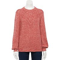 Deals on Sonoma Goods For Life Womens Stitch-Detail Sweater