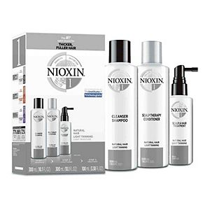 Nioxin System Kit 1 for Fine/Normal to Light Thinning, Natural Hair