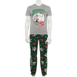 Men's A Christmas Story Oh Fudge Pajama Set in Gift Box