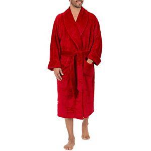 Men's Chaps Twill Comfort Soft Robe