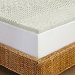 Pure Rest 1.5 Inch 5-Zone Memory Foam Topper