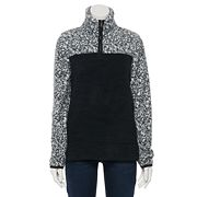 Women's Sonoma Goods For Life® Supersoft Sherpa Quarter-Zip Top