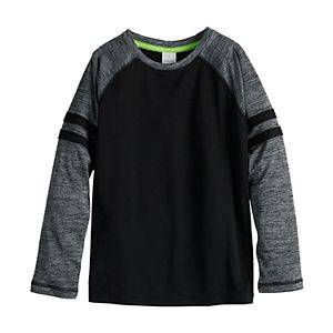 Boys 4-12 Jumping Beans® Long Sleeve Active Essentials Tee