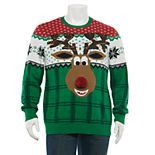 Men's Reindeer Christmas Sweater