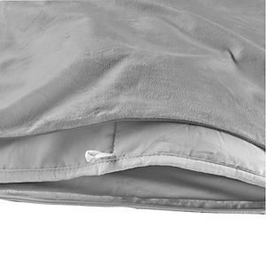 Sealy Weighted Blanket with Plush Removable Cover