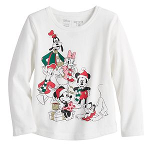Disney's Mickey Mouse & Friends Toddler Girl Christmas Tee by Jumping Beans