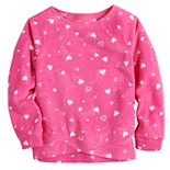 Toddler Girl Jumping Beans® Crossover Fleece Top