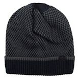 Men's Dockers® Checker Print Knit Beanie