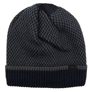 Men's Dockers Checker Print Knit Beanie