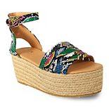 Yoki Harmony Women's Espadrille Platform Sandals