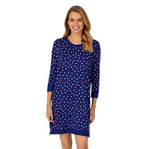 Women's Cuddl Duds® Knit 3/4 Sleeve Sleepshirt