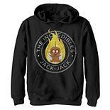 Disney / Pixar's Incredibles Boys 8-20 2 Jack Emblem Graphic Fleece Hoodie