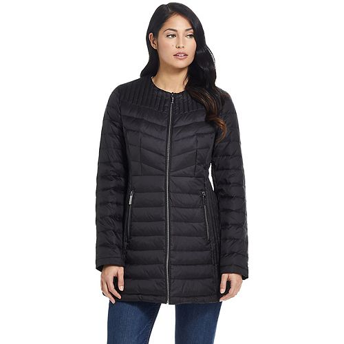 Women's Ellen Tracy Quilted Puffer Jacket