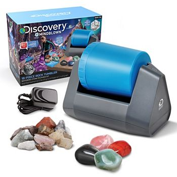 Discovery Mindblown Toy Kids 18-Piece Rock Tumbler