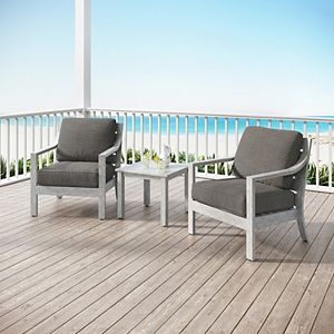Royal Garden Lancaster Patio Chair & End Table 3-piece Set