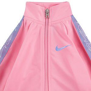 Baby Girl Nike 2-Piece Zip Jacket & Pants Track Set