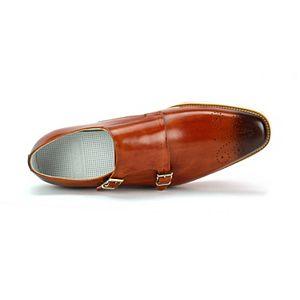 Giovanni Jaxson Men's Monk Strap Dress Shoes