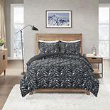 True North Faux Fur Comforter Set with Shams