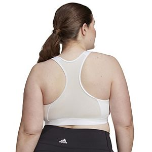 Plus Size adidas Don't Rest Alphaskin Medium Support Sports Bra