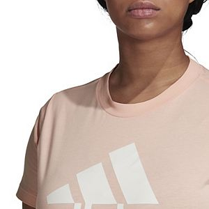 Plus Size adidas Badge of Sport Tee