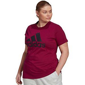 Plus Size adidas Badge of Sport Tee