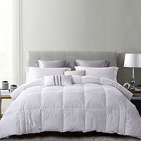 Serta White Duck Feather & Down Comforter + $10 Kohls Cash Deals