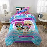 MGA LOL Surprise Outrageous Twin Bedding Set