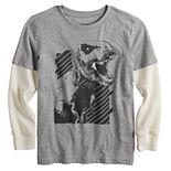 Boys 4-12 & Slim & Husky Jumping Beans® Thermal Skater Graphic Tee