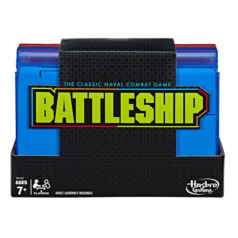 Battleship Neon Pop Board Game Classic Strategy Game by Hasbro