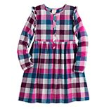 Girls 4-12 Jumping Beans® Ruffle-Sleeve Dress