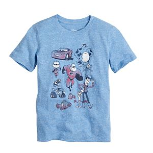 Disney / Pixar's Toy Story, Finding Nemo, WALL-E, Monster's Inc. & The Incredibles Graphic Tee by Jumping Beans®
