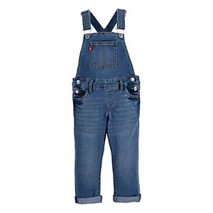 Toddler Girl Levi's® Stretch Denim Girlfriend Overalls