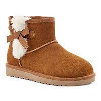 Koolaburra by UGG Victoria Mini Womens Winter Boots Deals