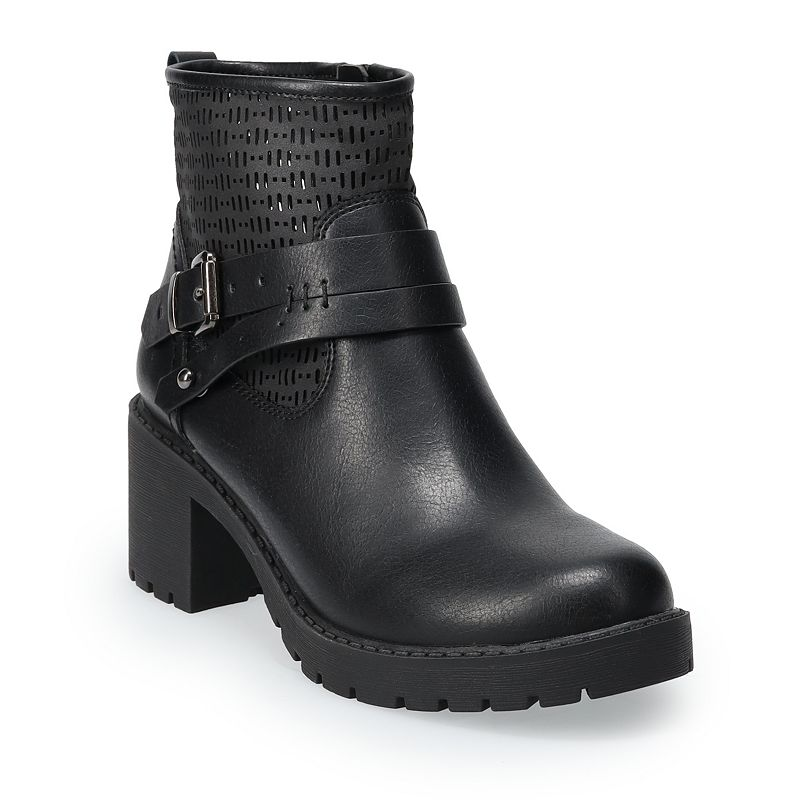 SO Platy Women's Ankle Boots, Size: 11, Black
