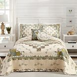 Modern Heirloom Olivia Bedspread or Sham