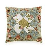Modern Heirloom Olivia Patchwork Throw Pillow
